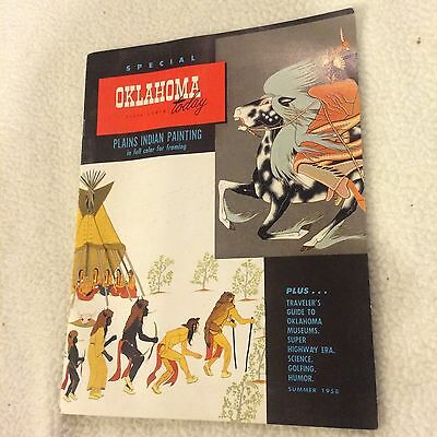 1958 Special Oklahoma Today-Plains Indian Painting