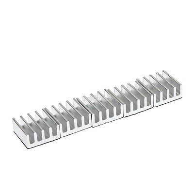 High Quality 5pcs 11x11x5mm Aluminum Heat Sink For Memory Chip IC BE0D