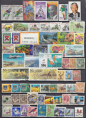 SOUTHERN AFRICA MIX 320+ USED STAMPS inc.SOUTHAFRICA/ZAMBIA/RHODESIAS/SWAZILAND