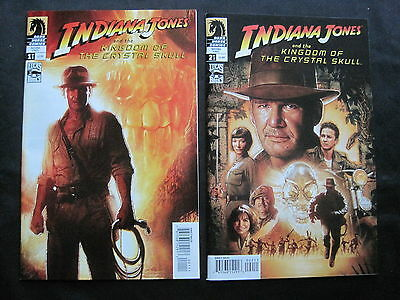 INDIANA JONES & the KINGDOM of the CRYSTAL SKULL:COMPLETE 2 ISSUE SERIES.DH.2008