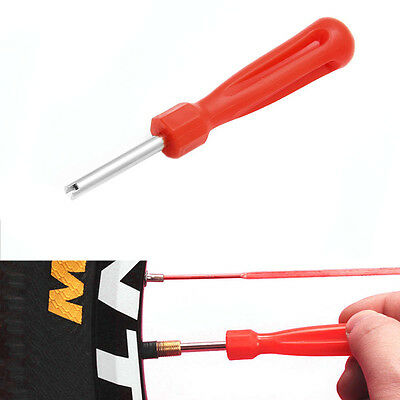 Bike Bicycle MTB Schrader Valve Gas Nozzle Removal Screwdriver Tire Repair Tool
