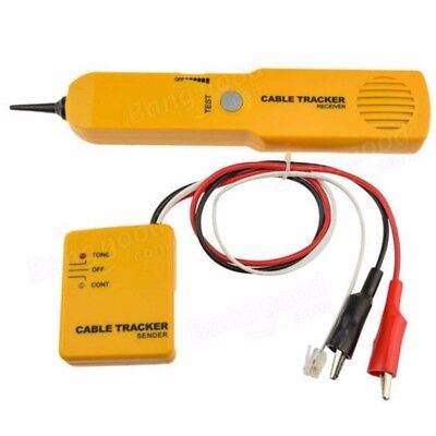 RJ11 Network Cable Continuity Tester Telephone Line Cable Tracker NEW