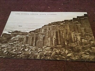 Old Postcard  Giants Causeway