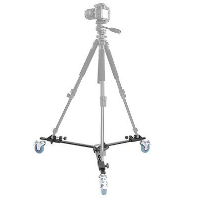 Neewer Professional Tripod Dolly with Rubber Wheels for Camera Photo Video