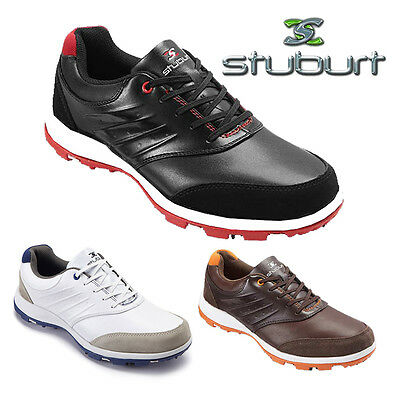 REDUCED!!  Stuburt Urban Control Studded Leather Mens Golf Shoes  NEW!