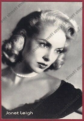 JANET LEIGH 14 ATTRICE ACTRESS ACTRICE CINEMA MOVIE PEOPLE STAR USA Cartolina