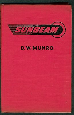 Sunbeam S7 S8 Motorcycle book by DW Munro  Pearson Motorcycle Manual