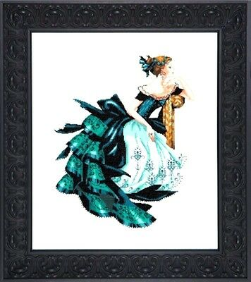 """SALE! COMPLETE XSTITCH KIT """"PORTRAIT OF VERONICA MD147"""" by Mirabilia"""