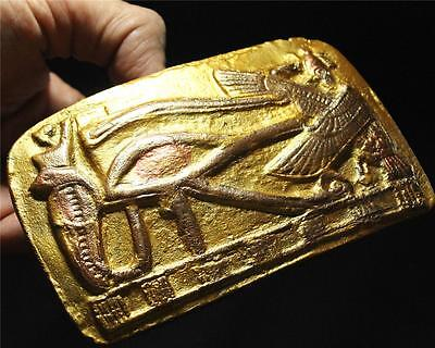 EGYPTIAN EYE OF HORUS Symbol Of Protection stone relief ancient replica