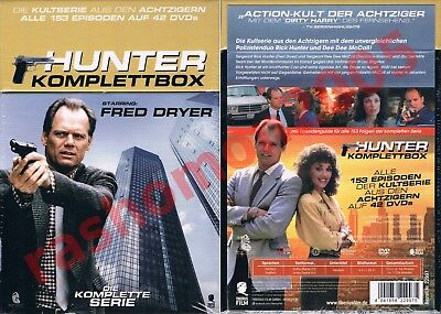 DVD HUNTER COMPLETE TV SERIES BOX ALL 152 EPISODES Fred Dryer Uncut Region 2 NEW