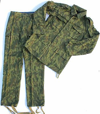(29) Genuine Soviet Russian Army Uniform In Light Woodland Flora Camo 38 Chest