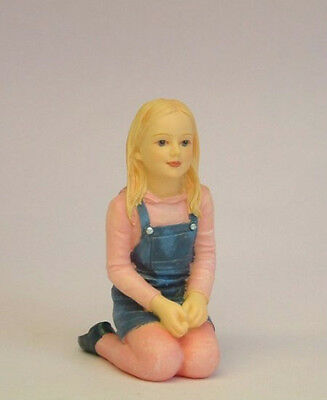 Dolls House Doll: Resin Figure of a Little Girl  'Jessica'  in 12th scale