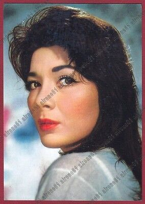 JULIETTE GRECO 01 ATTRICE ACTRESS ACTRICE CINEMA CHANTEUSE FRANCE Cartolina