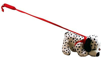 Poochie Pals Dalmatian Soft Toy On Stiff Lead