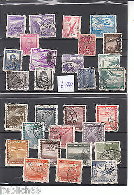 Chile nice classic Stamps Lot Z 1773