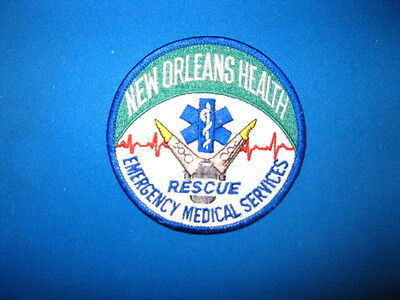 New Orleans Ems Rescue Patch
