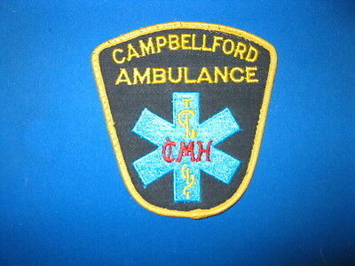 Campbellford, Ontario,  Ambulance Patch