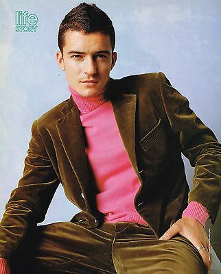 "ORLANDO BLOOM - 11"" x 8"" MAGAZINE PINUP - POSTER - TEEN BOY ACTOR"