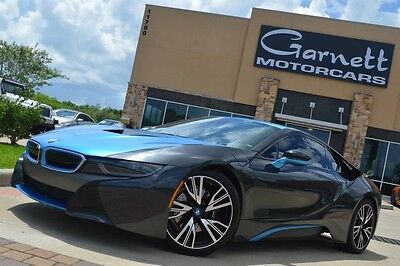 2015 BMW i8 Base Coupe 2-Door 2015 BMW I8 PURE IMPULSE WORLD EDITION! CUSTOM WRAP! MUST SEE! $148K NEW!