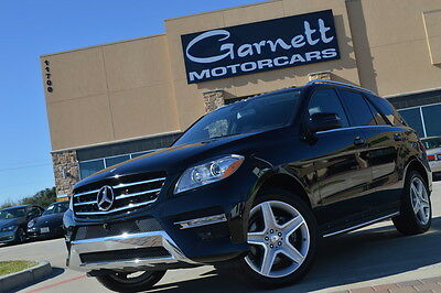 2015 Mercedes-Benz M-Class 4Matic Sport Utility 4-Door 2015 MERCEDES ML400 * ONLY 2K MILES * EX COND * HUGE OPTS * MUST SEE!