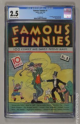 Famous Funnies (1934) #1 CGC 2.5 (1172832001)