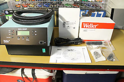 Weller WHA3000P Digital 700W Hot Air Station With Built-In Turbine - Never Used