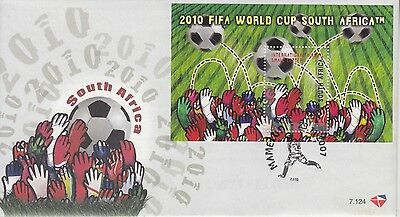 SOUTH AFRICA FDC 2007 - No:7.124 - 2010 SOCCER FIFA WORLD CUP