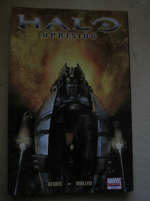HALO : UPRISING  2 by BENDIS & MALEEV. BASED ON THE VIDEO GAME. MARVEL  2007
