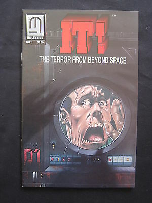 IT ! The TERROR FROM BEYOND SPACE : # 1. EXPLICIT CONTENT. MILLENNIUM. 1993