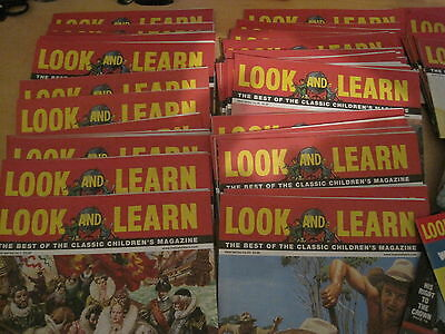 """Look & Learn :complete 48 Issues In """"best Of"""" Series + Reproduction Of # 1 +Gift"""