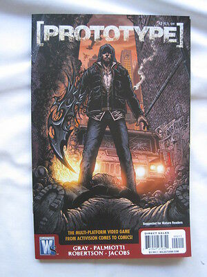 PROTOTYPE  2. BASED ON THE VIDEO GAME. By GRAY & PALMIOTTI. WILDSTORM 2009