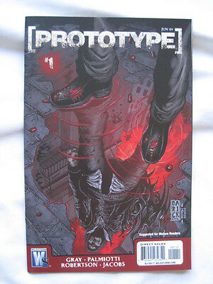 PROTOTYPE  1. BASED ON THE VIDEO GAME. By GRAY & PALMIOTTI. WILDSTORM 2009