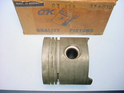 Hillman Avenger & Plymouth Cricket Engine Pistons NEW!