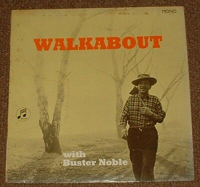 BUSTER NOBLE walkabout 1964 UK COLUMBIA MONO LP