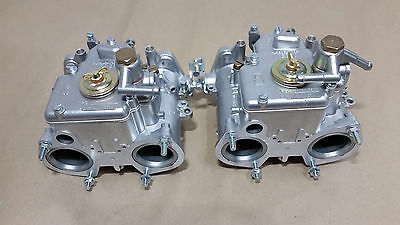 Weber 40 Dcoe 136 137 Twin Carbs Carburettors Doppelvergaser Fully Reconditioned