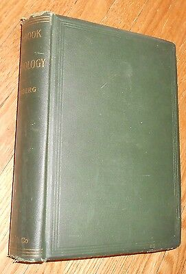 1896 Antique Medical Book Text book of Bacteriology.  By George Sternberg, M.D.
