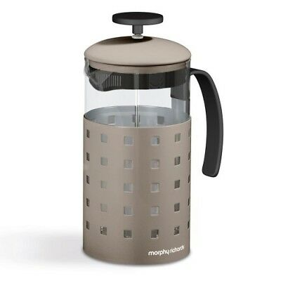 Morphy Richards Accents 8 Cup Coffee Cafetiere 1000ml - Barley