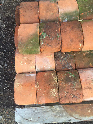 54 Victorian Large Red wall coping Bricks