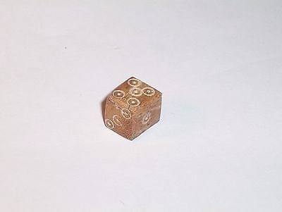 Ancient Roman Bone Dice c. 4th A.D.   1600 years old  Genuine Roman  small
