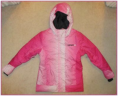 Ski, Snowboard Or Winter Jacket Coat By Campri, Age 2-3 Pink Polkadot.