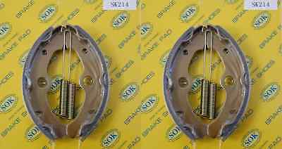 FRONT BRAKE SHOES+SPRINGS YAMAHA YFM 350 Big Bear,89-98 YFM350 YFM350FW YFM350U