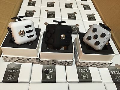 IN STOCK Fidget Cube  Anxiety Stress Relief Focus Toys Christmas Stocking Gift