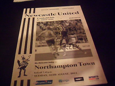 Newcastle United v Northampton Town League Cup 25th August 2015