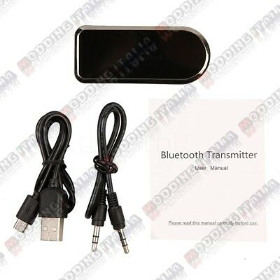 Trasmettitore Wireless Audio USB Bluetooth 4.0 A2DP+EDR Musica Stereo TV DVD PC