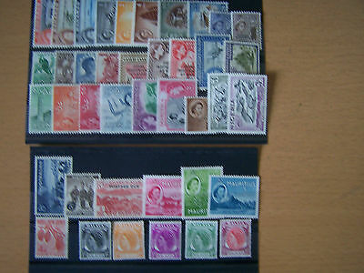 40 Different Early Qe11 Definitives,u/mint,excellent Lot.
