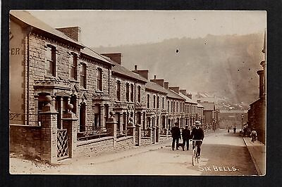 Six Bells  -  real photographic postcard