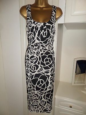 "Beautiful Lined Maternity Dress By M&s ""limited Collection""nwt Size 14 Bust 38"""