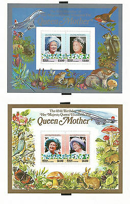 St Vincent -Bequia 211 And 212 Mnh Scv $8
