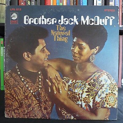 BROTHER JACK McDUFF The Natural Thing CADET US Press LP