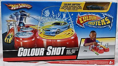 Hot Wheels Colour Shifters / Colour Shot Play Set With Car - New & Sealed